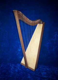 The Affordable LAP Minstrel Harp