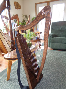 Small butterfly on a 34-Ultra-Lite Harp