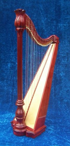 Click on each harp for prices, sound clips, testimonials,