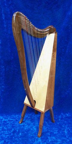 Harp, Selah Harp, Shechinah Harp, Minstrel Harps, and Davidic Harp