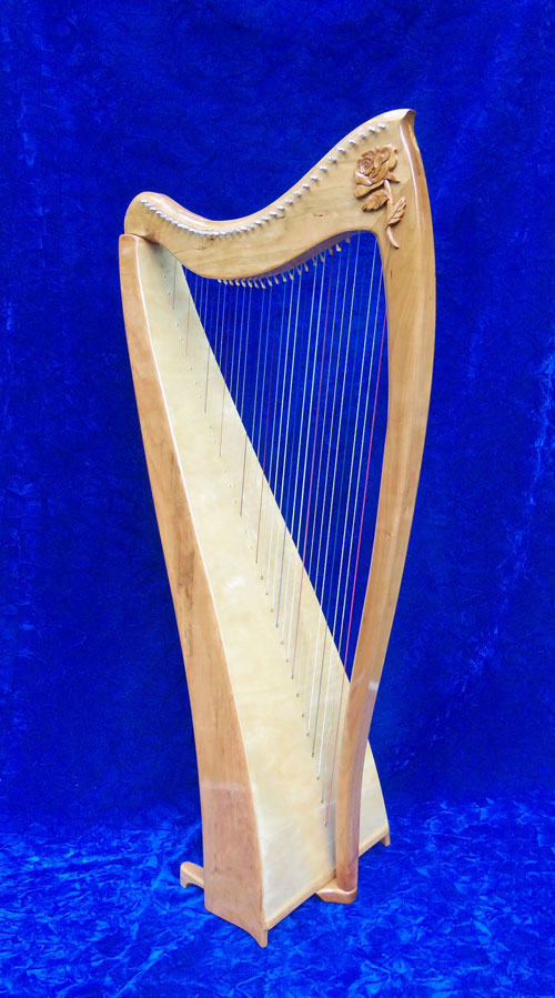 years of being a harpist, I've played and enjoyed many different harps