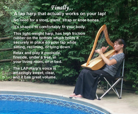 Relaxing with the LAP Harp